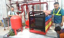 Tuyển thợ cơ khí hàn, hệ thống phòng cháy chữa cháy