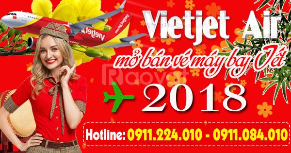 Vietjet mở bán vé máy bay Tết nguyên đán 2018 đợt 1