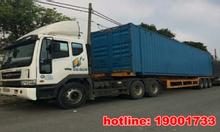 Vận tải hàng nặng bằng container đi Hà Nội