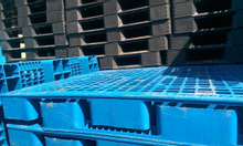 Pallet nhựa đã qua sử dụng mới 90%, tiết kiệm miền Trung 0905681595