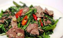 Tuyển bếp quán chuyên thịt trâu tại đại lộ Thăng Long