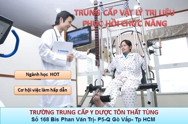 Khóa học vật lý trị liệu-Phục hồi chức năng TpHCM