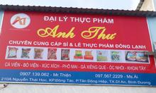 Chuyên cung cấp thực phẩm đông lạnh Minh Long