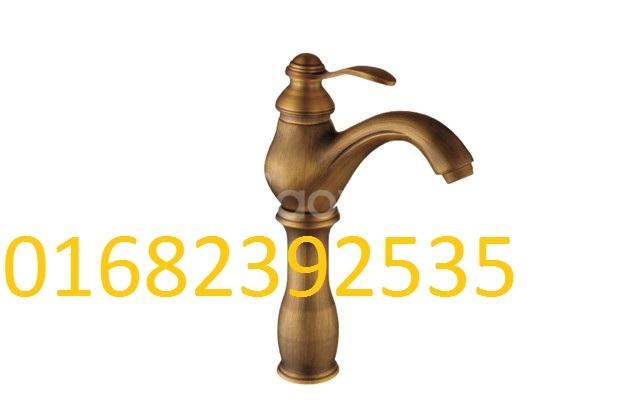 Vòi rửa tay bằng đồng