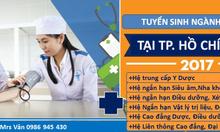 Tuyển sinh ngành y dược tại TpHCM