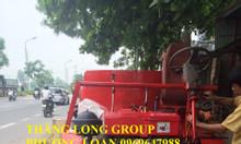 Máy trộn bê tông tự hành 9 bao 1,5m3/mẻ trộn 0969647988 vận hành