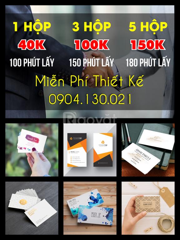 In Card Vist tại Hải Phòng giá siêu rẻ 35.000đ / 1hộp