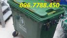 Thùng rác nhựa 660 lít có 4 bánh xe giá rẻ (ảnh 3)