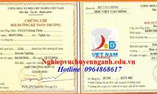 Học chứng chỉ nghiệp vụ kế toán trưởng ở đâu tại Nha Trang, Cần Thơ