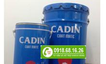 Sơn dầu Cadin cho sắt thép kẽm 2 in 1 giá rẻ tại TPHCM