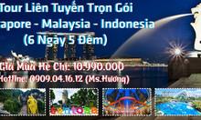 Singapore + Malaysia giá rẻ