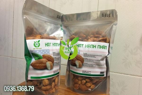 Hạt hạnh nhân rang bơ mua buôn ở đâu tại Hà Nội?