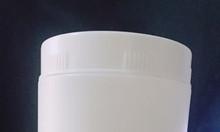 Hũ nhựa trắng tròn 1kg