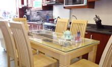 Bộ bàn ăn gỗ sồi nga
