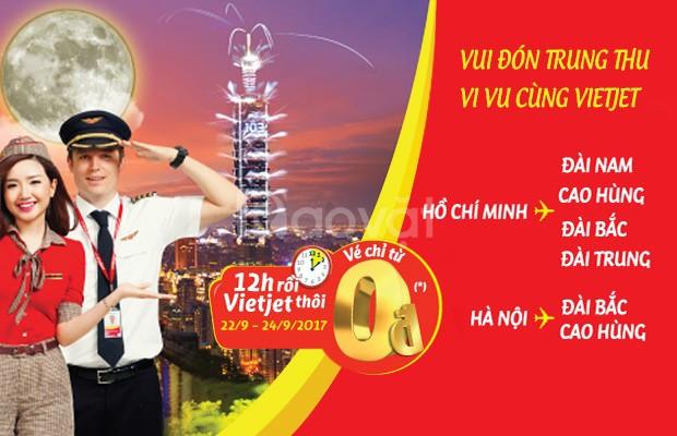 Vui đón Trung Thu, vi vu cùng Vietjet Air!