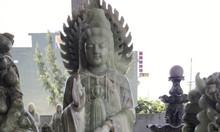 Tượng Phật Quan Âm bằng đá non nước