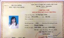 Lớp học kế toán trưởng - chứng chỉ kế toán trưởng tại Hà Nội