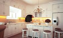 Tủ bếp tân cổ điển, mẫu mới