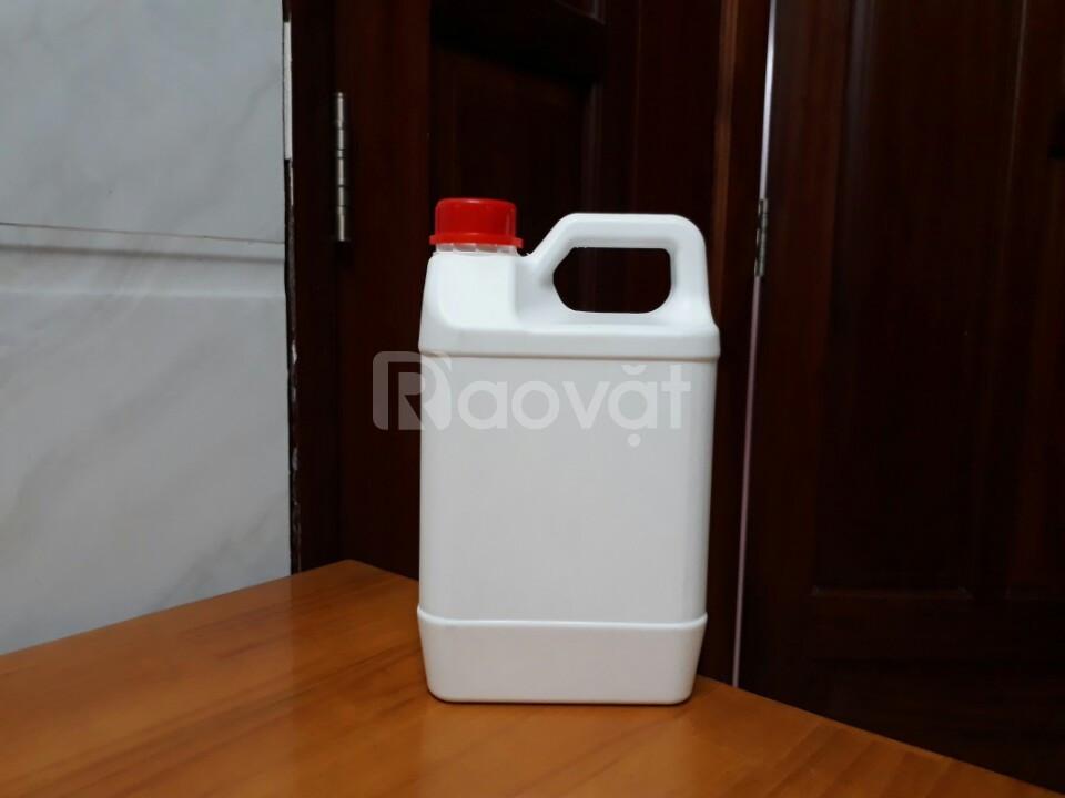 Can nhựa đựng hóa chất, can nhựa 10 lít, can nhựa HDPE