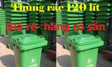 Bán hạ giá 1500 thùng rác 120 lít, 240 lít giá sỉ thấp