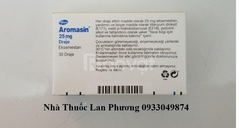 Thuốc Aromasin 25mg Exemestane điều trị ung thư vú giá bao nhiêu?
