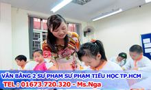 Đạo tạo văn bằng 2 trung cấp sư phạm tiểu học tại HCM