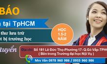 Trung cấp văn thư lưu trữ, thiết bị trường học TpHCM học phí thấp