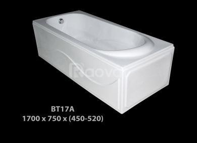 Bồn tắm Atlantic, bồn tắm nằm, bồn tắm góc giá rẻ tại Sài Gòn