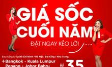 AirAsia tung vé giá sốc cuối năm, đặt ngay kẻo lỡ!