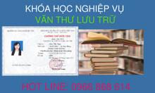 Khóa học văn thư tại Cần Thơ và nhiều tỉnh thành khác 0966.868.614