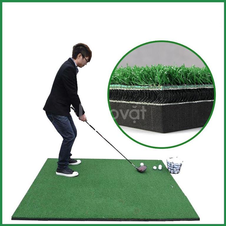 Thảm golf 3D, thảm phát banh golf 3 lớp