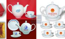 Bộ ấm trà in logo - Quà tặng khách hàng dành cho Doanh nghiệp