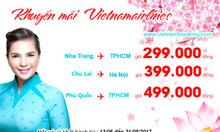 Bay đẳng cấp cùng Vietnam Airlines chỉ từ 299.000đ