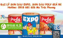 Đại lý bán sơn dầu Expo màu 910, 940 giá rẻ tại Bình Dương, TPHCM