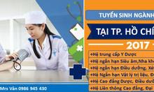 Trung cấp y dược và liên thông Cao đẳng Dược, điều dưỡng năm 2017