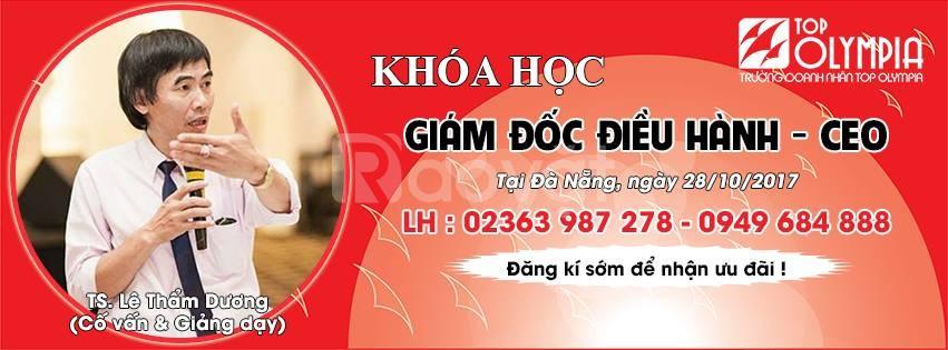 Thông báo khai giảng lớp giám đốc điều hành - CEO - k42 tại Đà Nẵng