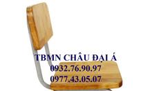 Ghế gỗ chân sắt dành cho trẻ mầm non