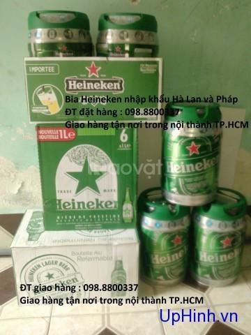 Bia Heineken chai nhôm Hà Lan và bom 5 lít (ảnh 6)