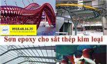 Đại lý bán sơn epoxy cho sắt thép giá rẻ cho công trình