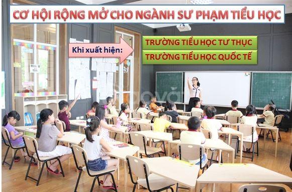 Trung cấp sư phạm tiểu học TpHCM học cuối tuần