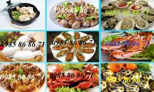 Khóa học nấu các món ốc, các món hải sản