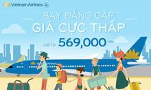 Bay đẳng cấp cùng Vietnam Airlines chỉ từ 569.000đ