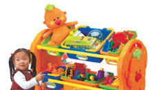 Kệ đồ chơi dành cho trẻ em mầm non