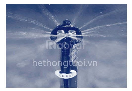Tưới phun mưa Bình Minh, vòi phun meganet, vòi phun gyronet, vòi phun