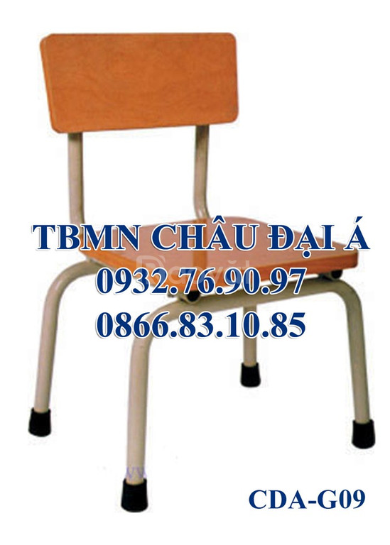 Ghế gỗ dành cho trẻ mầm non