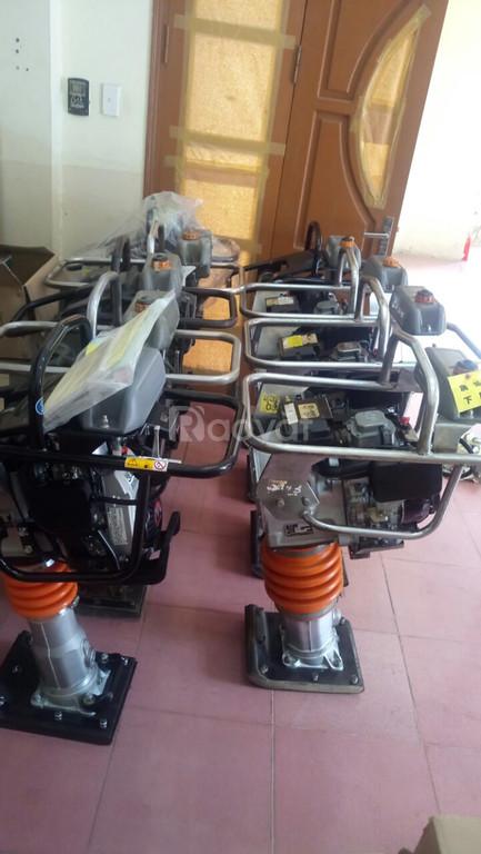 Đầm cóc giá rẻ, máy đầm cóc chạy xăng-chạy điện MT55 đầm mikasa MT72