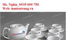 Sản xuất, in logo bộ ấm trà Quảng Ngãi_uy tín