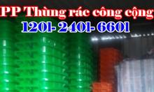 Bán thùng rác 120l, 240l, 400l, 660l giá rẻ giao hàng trên toàn quốc
