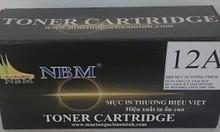 Mực in thương hiệu NBM, tương thích với các dòng máy in HP/Canon