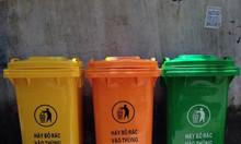 Thùng rác công cộng 120 lit 240 lit giá rẻ tại Đồng Văn (Phủ Lí)